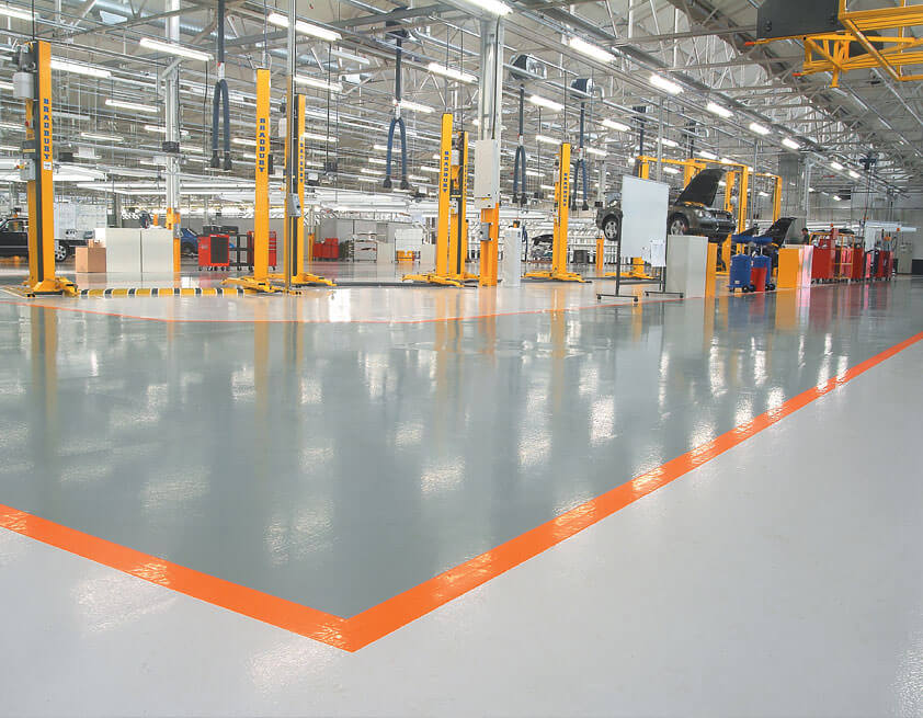 industrial flooring contractors